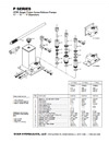 Parts Lists for P1, P2 & P3 Pumps